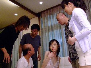 Cute Aoba Itou luvs dirty gangbang at..